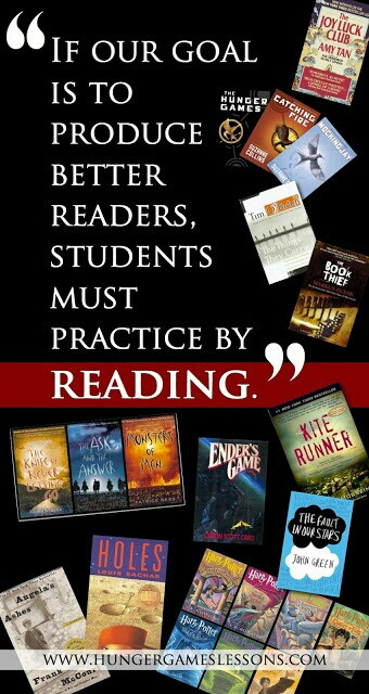 If our goal is to produce better readers, our students must practice by reading.