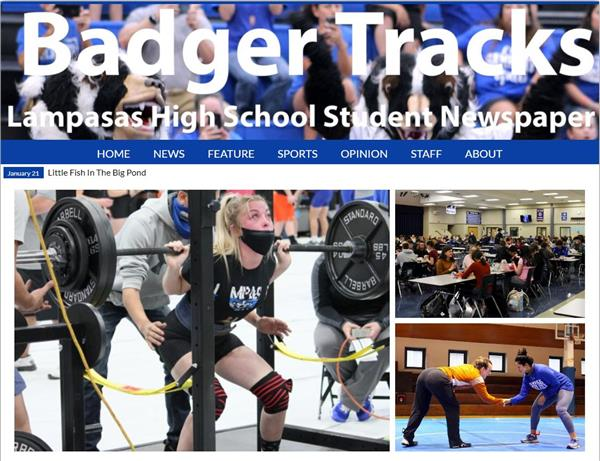 LHS BADGER TRACKS NEWSLETTER