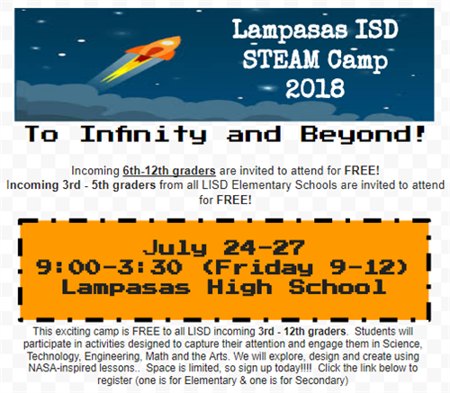 STEAM Camp Information
