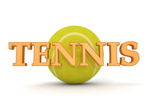 The word tennis
