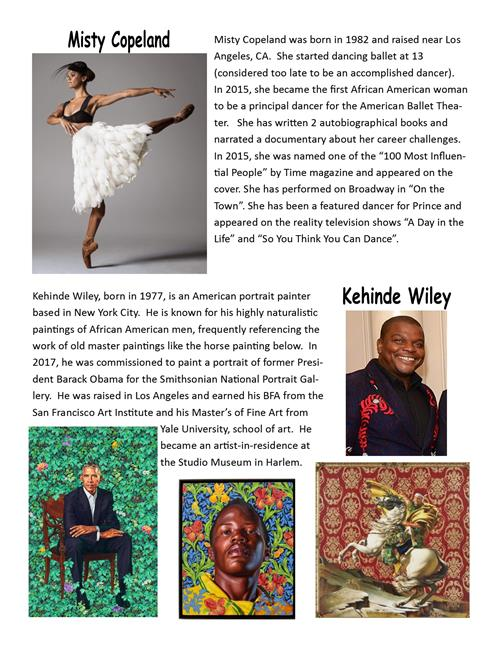 Black History Month page two