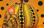 Kusama with Pumpkin